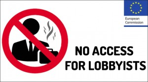 no access for lobbyists