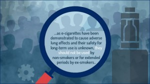 no to ecigs