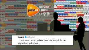 postnl is cynisch over tabak