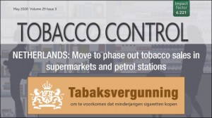 tobacco control over nederland