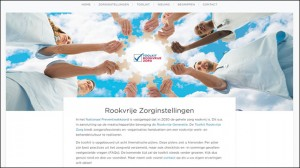 website rookvrije zorg